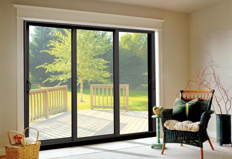 Aluminium doors van acht windows doors for Sliding main door