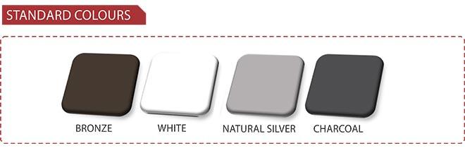 Van Acht Aluminium Standard Colours