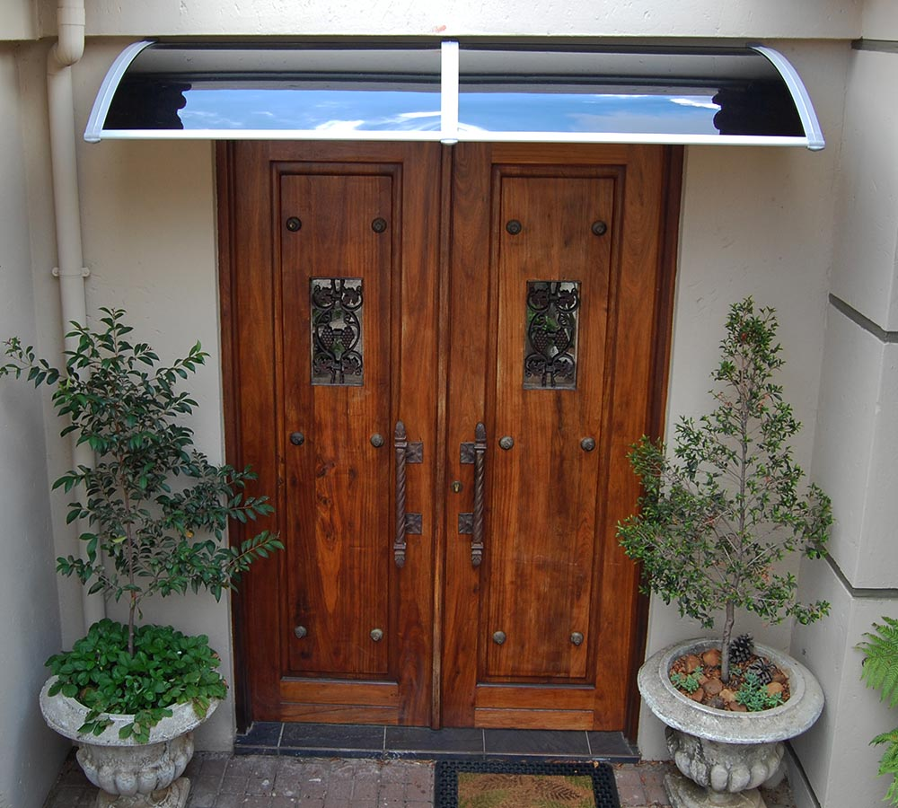 Van Acht Awning Over Entrance Door