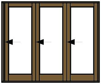 Van Acht Folding Door Open Pane VSF2560G1