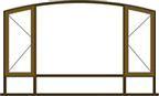 Van Acht Flat Arch Window