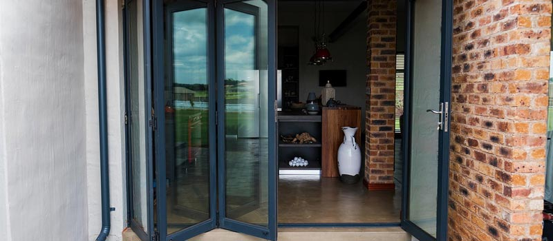 aluminium folding doors feature & Aluminium Doors - Van Acht Windows u0026 Doors