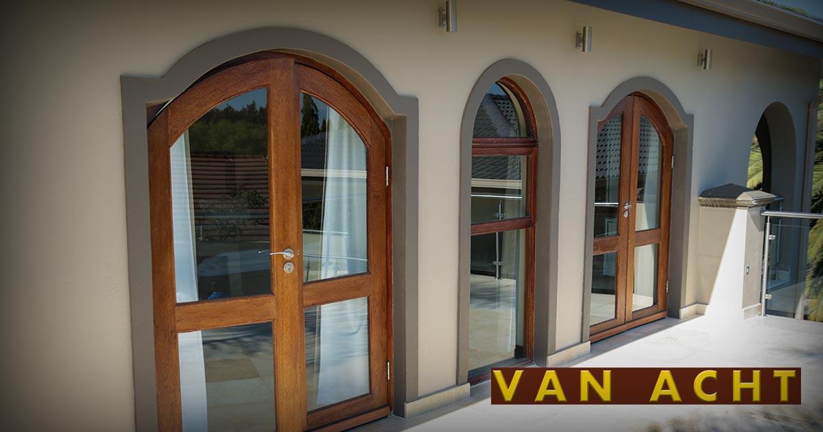 new arrivals 06882 ad66b Arched Window Range - Van Acht Windows & Doors