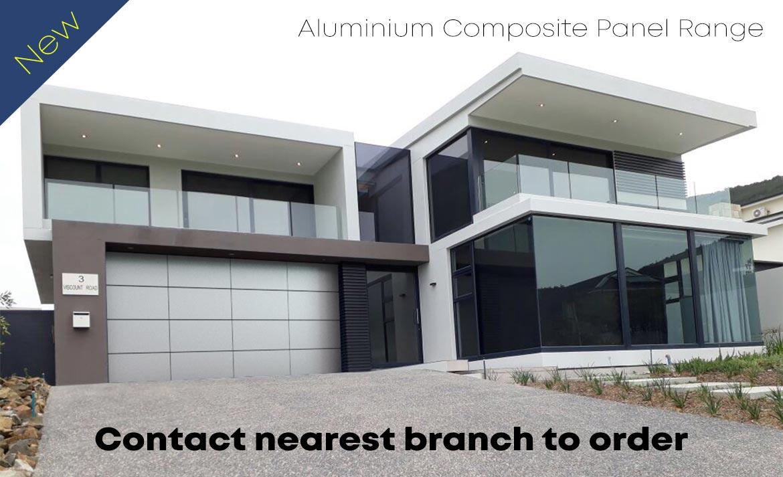 Aliminium Composite Garage Doors Advert