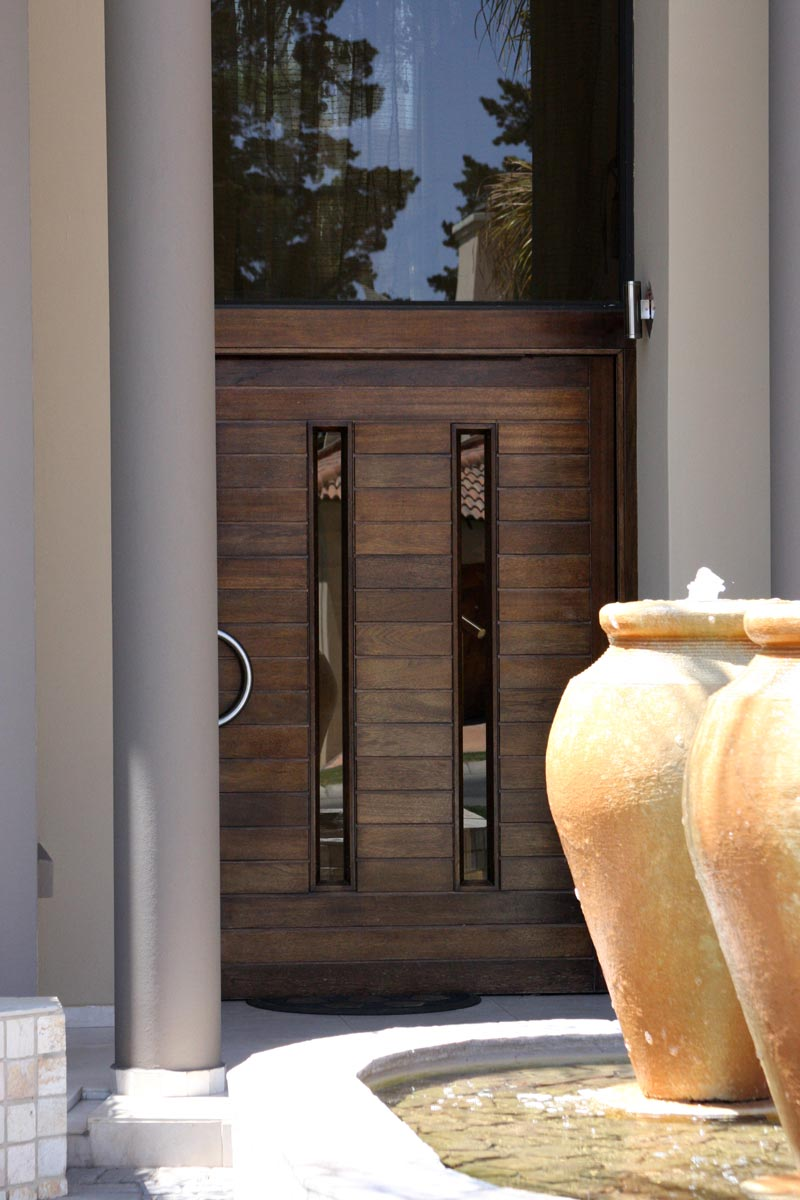 Van Acht Entrance Door Idea