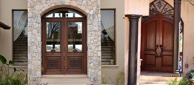 Van Acht Entrance Doors Feature