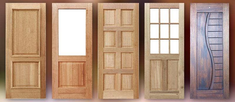 Wooden Doors Exterior Interior Entrance Pivot Patio Van Acht