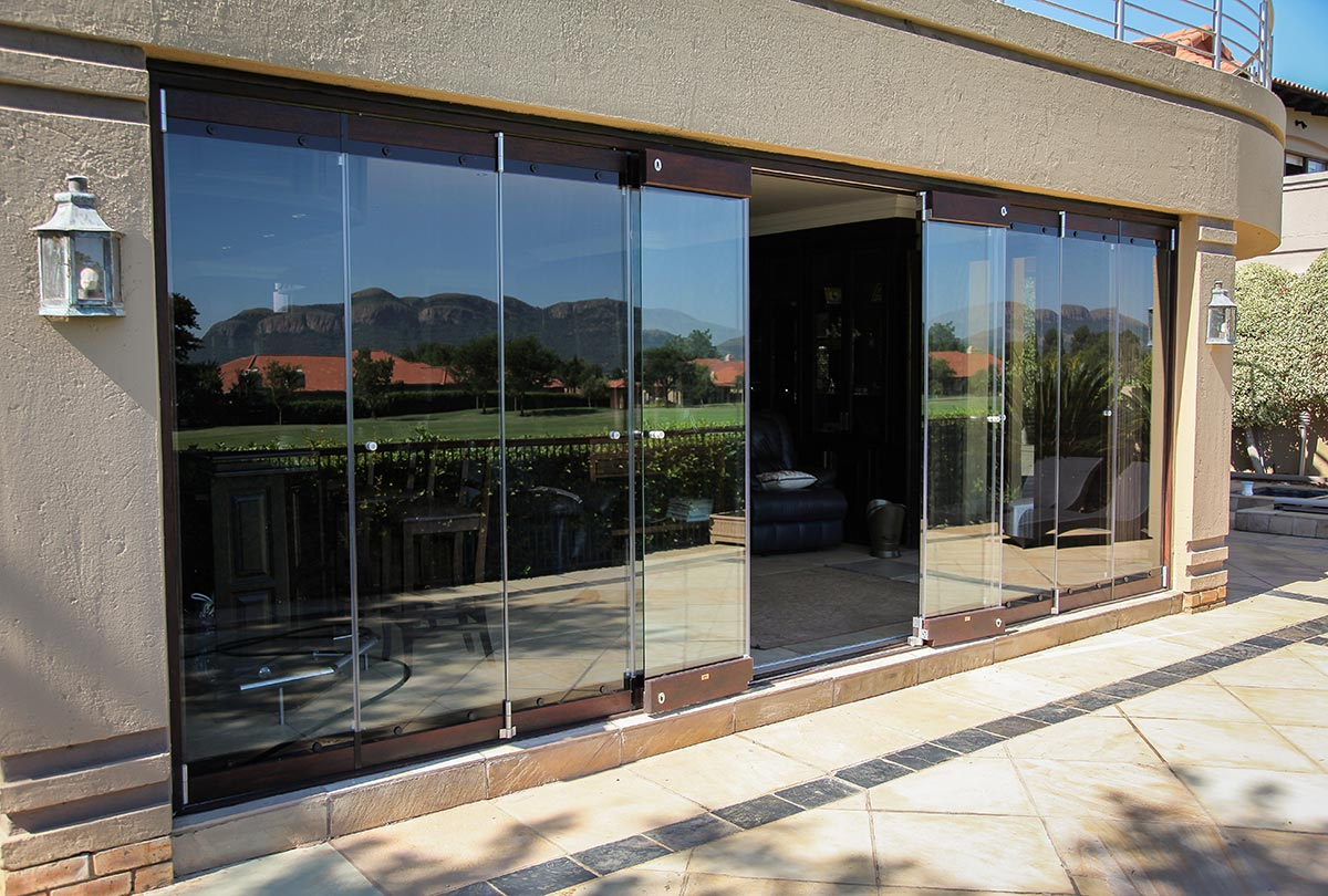 Frameless Glass Doors - Van Acht Windows & Doors
