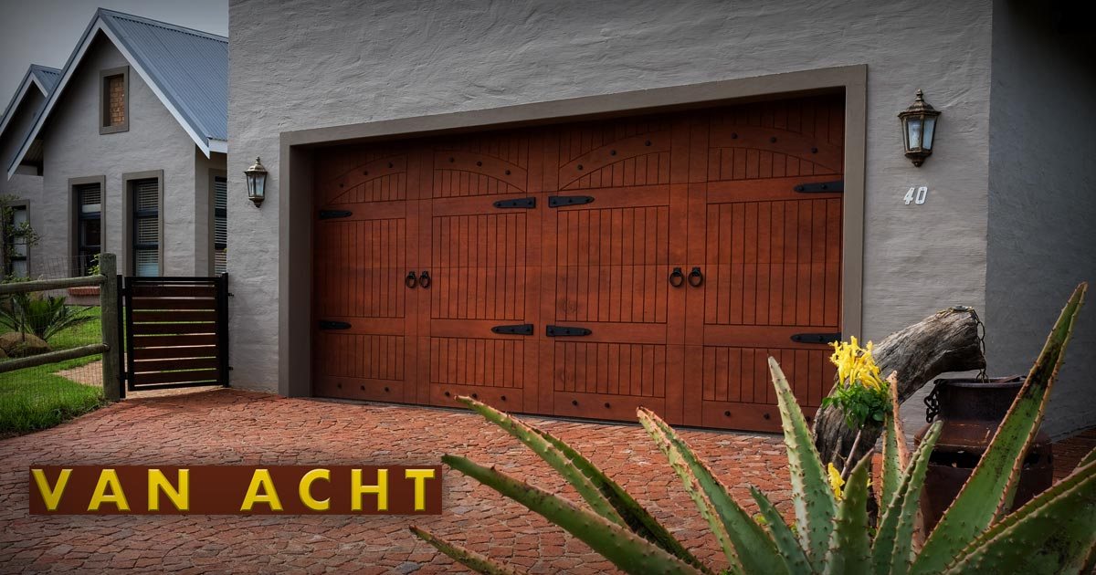 Garage Doors - Van Acht Windows & Doors