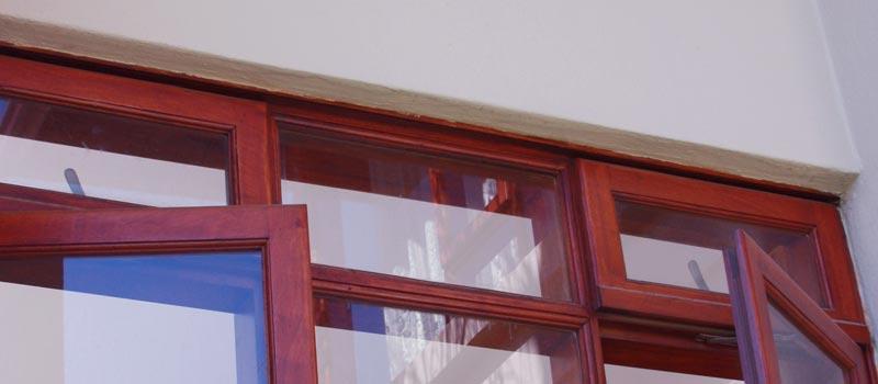 Van Acht Manor Windows Fanlight Feature