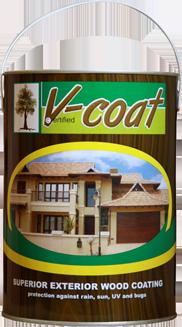 Van Acht V-coat Wood Sealer 5 litre tin